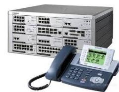 Installation of telephones to offices and