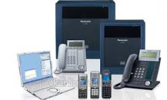 Installation pass automatic telephone exchange