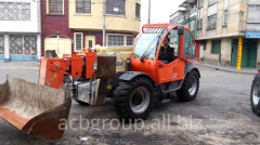Rent of a telescopic loader of JLG 4017