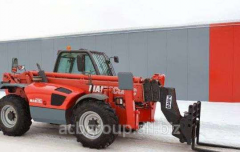 Rent of a telescopic loader of MANITOU MT-X 1740