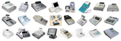 Service of control cash registers, Cash devices at