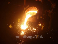 Casting of steel and iron