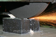 Metal working plainly and circular grinding
