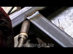 Welding by semiautomatic devices