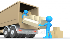 Services in delivery of Furniture