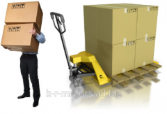 Services of Loaders for transportation of