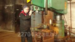 Repair of boilers