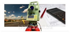 Project of a land surveying