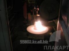 Заливка баббита  газопламенным напыление