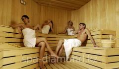 Sauna in Diamond spa-salon