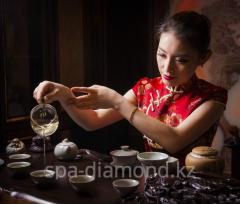 Tea ceremony in Diamond spa-salon