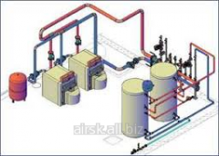 Design of boiler rooms