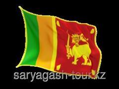 The visa to Sri Lanka