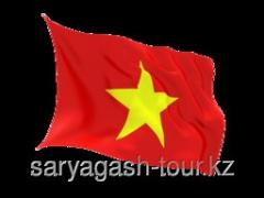 The visa to Vietnam