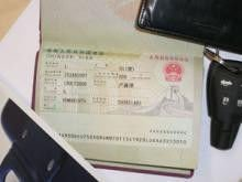 The visa electronic to China