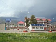 Aquamarine hotel Issyk sack