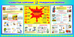 Изготовление Плакатов по ЧС, ГО и ПМП
