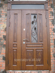 Монтаж металлических дверей