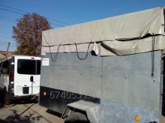Cargo transportation trailer