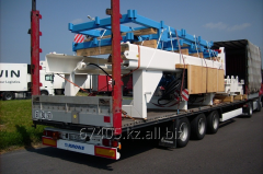 Cargo transportation of heavy freights