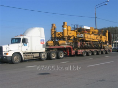 Delivery, transportation of heavy freights