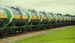 Железнодорожная перевозка груза вагоном-цистерной