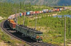 Железнодорожная перевозка