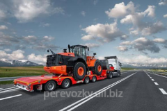 Cargo transportation of road equipmen