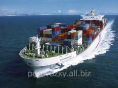 حمل و نقل کالا توسط دریا