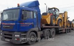حمل و نقل تجهیزات ساخت و ساز جاده
