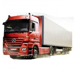 Automobile cargo transportation with various types