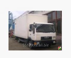 Перевозка грузов внутренняя по г. Алматы (фургон