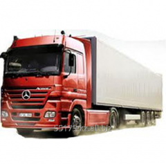 Services in transportation of goods of Almaty -