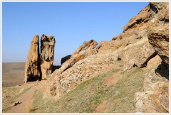Экскурсия Древний Испиджаб, Сайрам, скалы Адам и Ева
