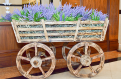 "Rent of scenery ""Cart with flowers"