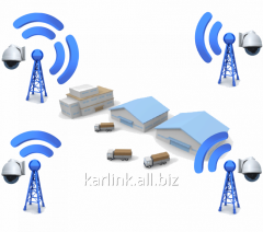 Construction of wireless channels of communication