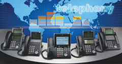 Installation of telephones to the enterprises