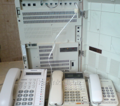 Connection of city phone lines