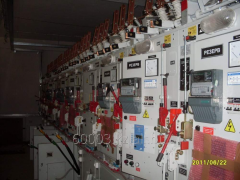 Installation of electric equipment of 10/0,4 kV