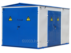 Production of complete transformer substations in