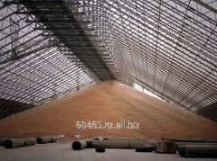 Acceptance, drying, storage and shipment of grain