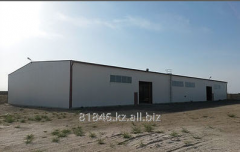 Rent of a hangar in Akta