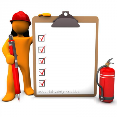 Courses of personnel on fire safety and