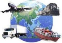 Container transportation of goods in KZ from