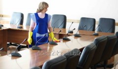 Daily cleaning of offices