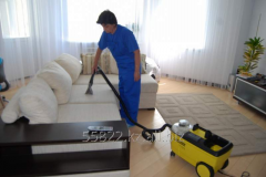 Service of cleaning of furniture
