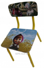 Production of children's chairs and tables