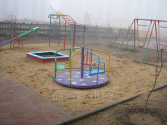 Production of designs for playgrounds