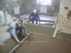 Dismantle of floor tie