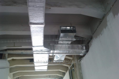 Installation of systems of ventilation